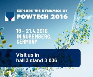 Powtech 2016 | 16-21 Huhtikuuta | Nürnberg, Saksa